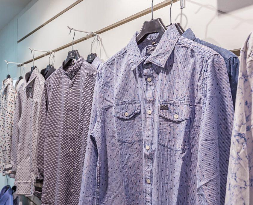 Rayon des chemises sportswear